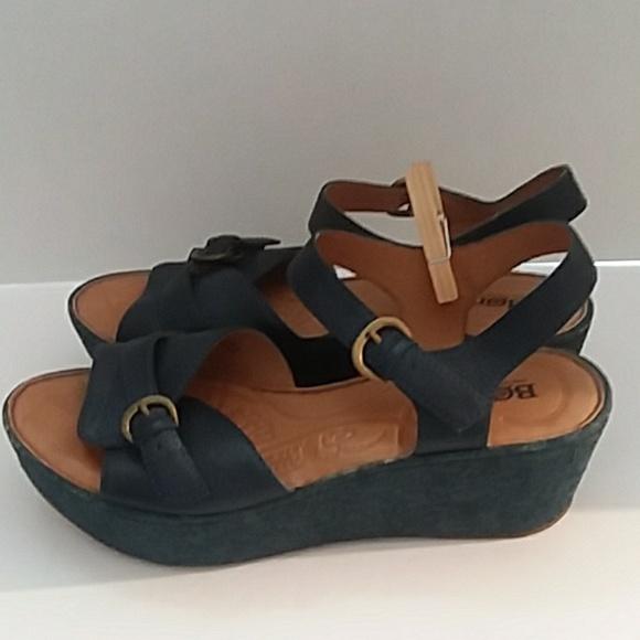 fcdd46c7dd1a Born Shoes - Born navy blue sandals